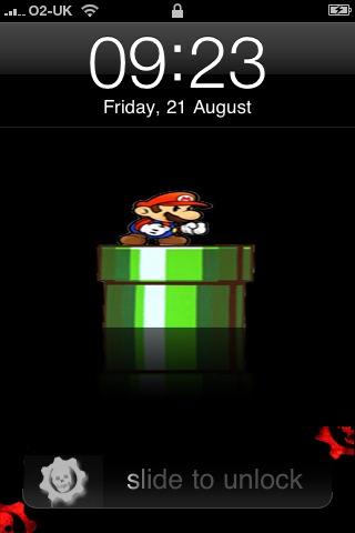 Mario iPhone Battery Theme by ariimage on DeviantArt