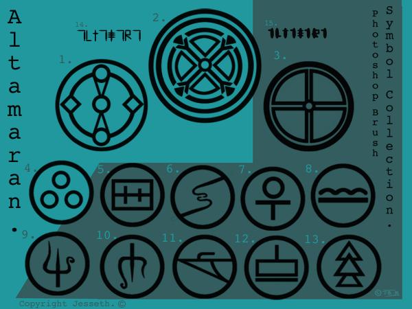 Pshop Brushesaltama Symbols By Jesseth On Deviantart