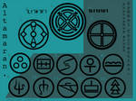 P'shop brushes:Altama symbols