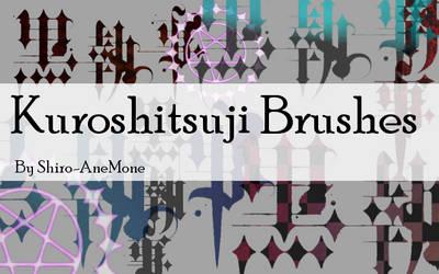Kuroshitsuji Brush set