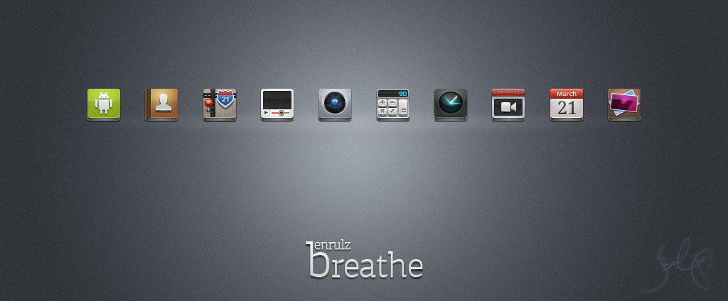 icons  breathe by benrulz d2kwkug Icon Pack per Android