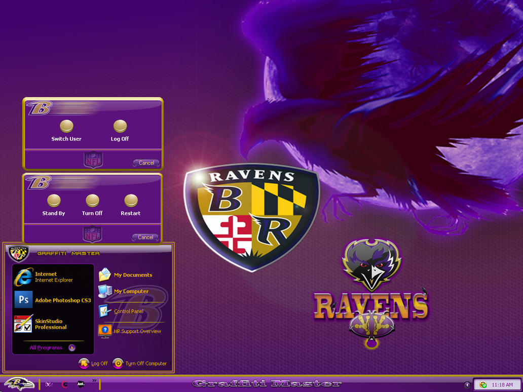 Baltimore Ravens  WBA by graffitimaster