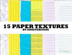 [RES] 15 Paper Textures -- STOPPED SHARING