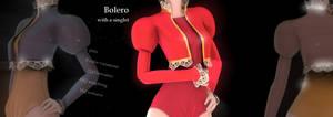 Bolero with a singlet DL