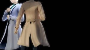 Male Raincoat DL