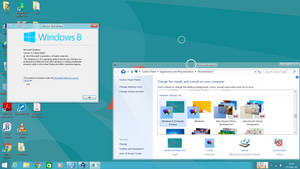 Windows 8 Consumer Preview VS for Windows 8.1.1 by yash12396