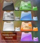 Translucent Folders icons