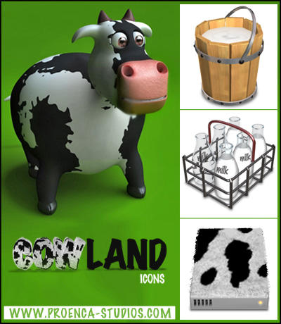 cowLand icons