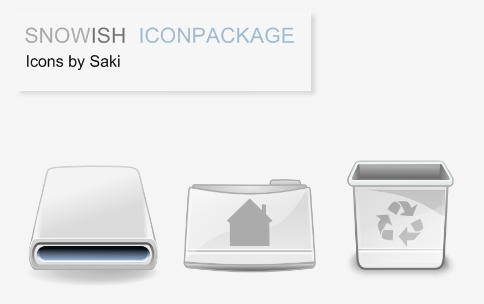 :: SnowIsh Iconpackage :: by sweatyfish