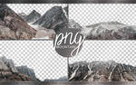 [PNG Pack] 4 Ultra HQ Mountains PNG