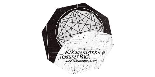 Texture Pack #4 - Kikagakutekina by azy0 by azy0
