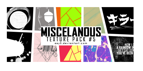Miscelanous texture pack 5 by azy0