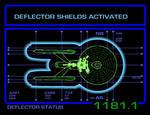 Deflector Status - animated