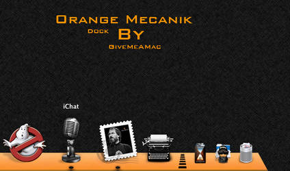 Orange Mecanik by YoCe
