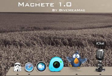 Machete dock by YoCe