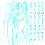 -+-+ANIMATION+-+- Naga WIP by LunaJMS