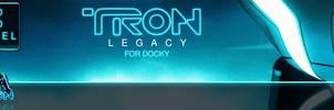 TRON Legacy Docky Theme