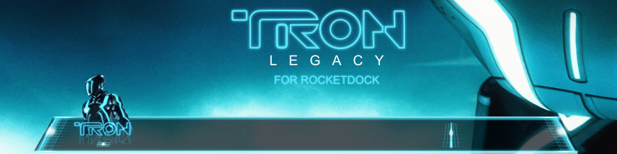 TRON Legacy RocketDock by half-left
