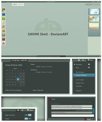 GNOME Shell - DeviantArt