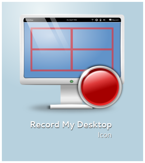 Record My Desktop Icon by half-left