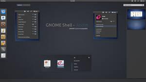 GNOME Shell  - Atolm