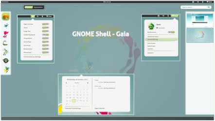 GNOME Shell - Gaia