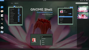 GNOME Shell - Elementary Luna