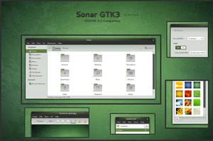 Sonar - GTK3 by half-left