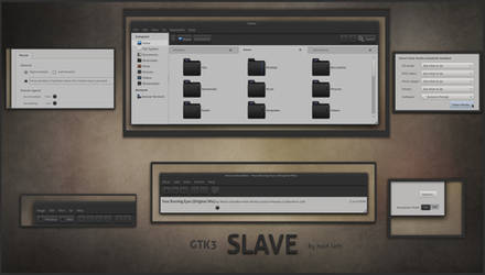 SLAVE - GTK3 by half-left