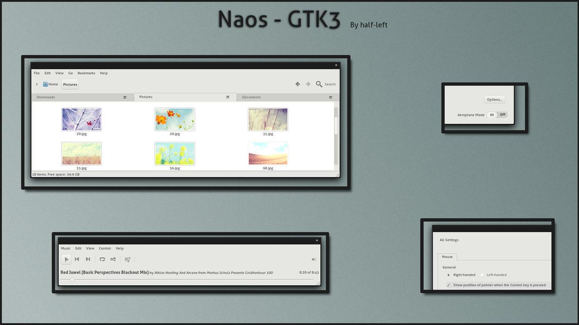 Naos - GTK3 by half-left