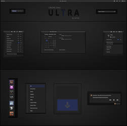 GNOME Shell -  ULTRA by half-left