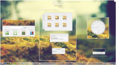 KDE4 - Elune by half-left