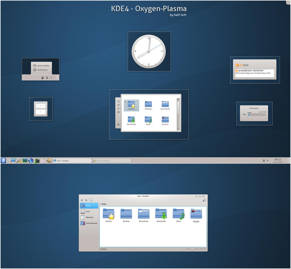 KDE4 - Oxygen-Plasma by half-left