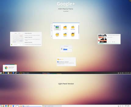 KDE4 - Google+