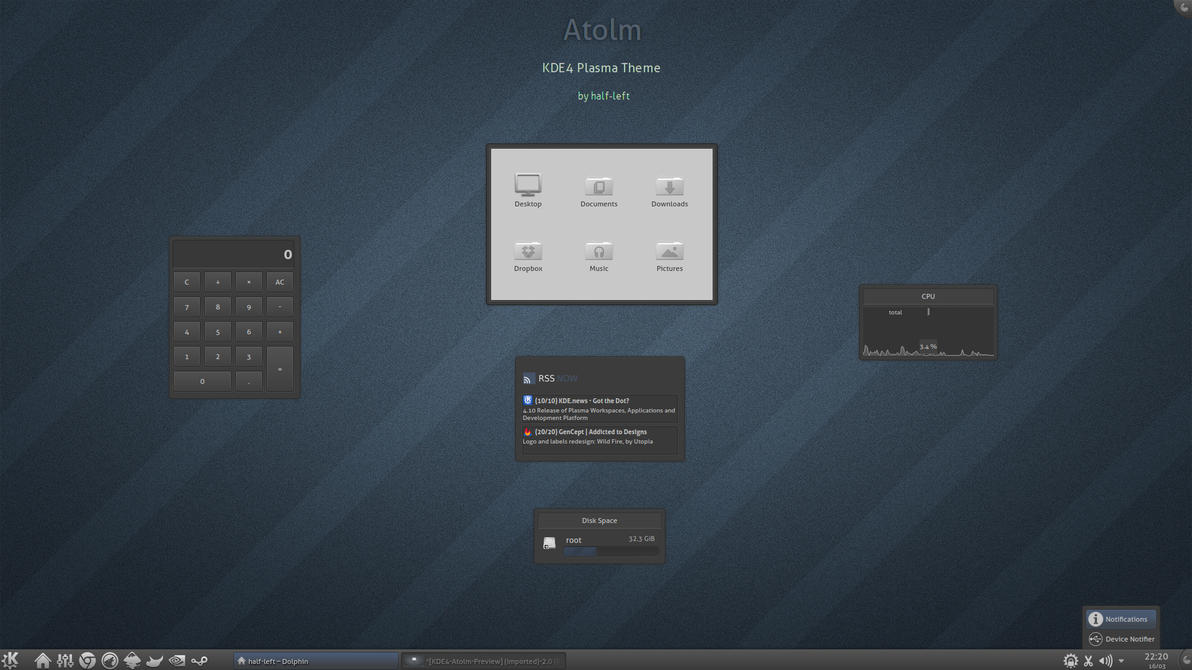 KDE4 - Atolm by half-left