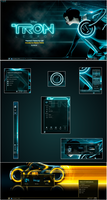 Tron Legacy For Plasma 5 by half-left