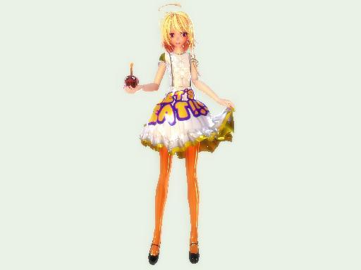 [MMD FNAF] Chica New Model DL By Ksenysiucide500 On DeviantArt