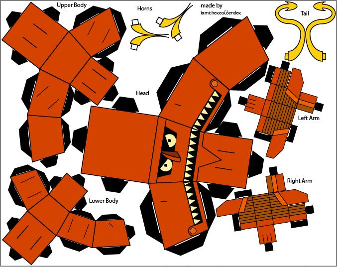 deviantART: More Like Papercraft Iron man by minibot-