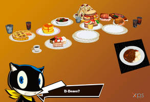 Persona 5: Buffet and Leblanc's curry plate (DL) by NecroCainALX