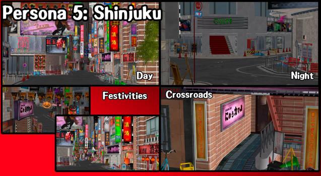 Persona 5 Shinjuku Pack [XPS](DL) by NecroCainALX