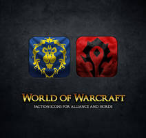 WoW Faction Icons by Atriace