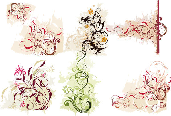 Swirl Flower Vector 1 by T-2-M