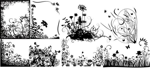 Swirl Flower Vector 2 by T-2-M