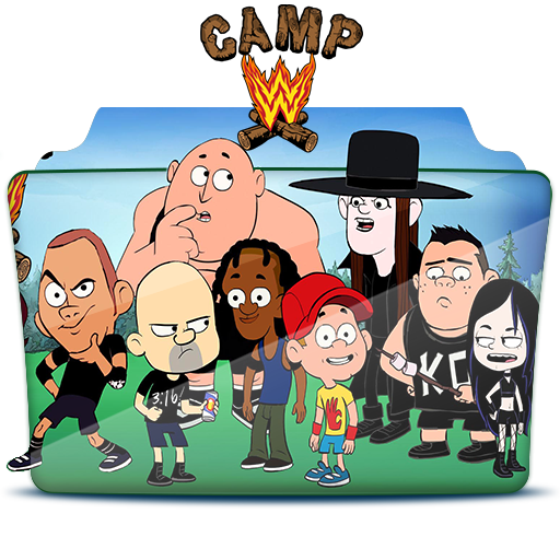 Camp WWE - Folder Icom by RST-420 ...