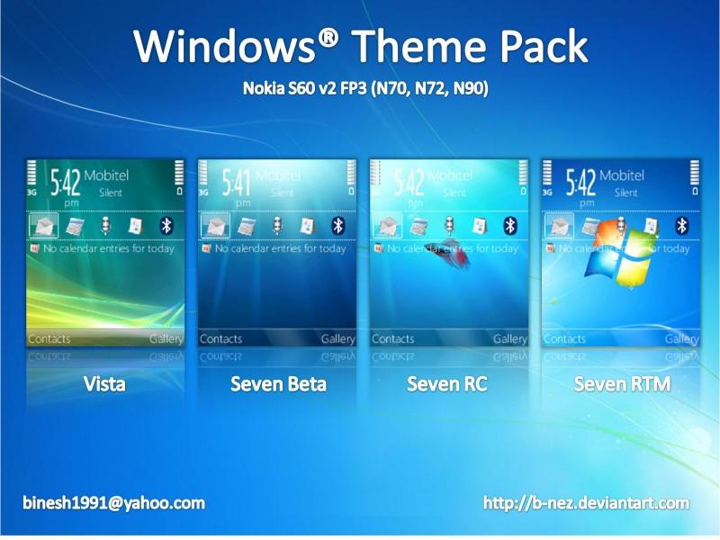 Windows Theme Pack for S60 by B-NEZ on DeviantArt