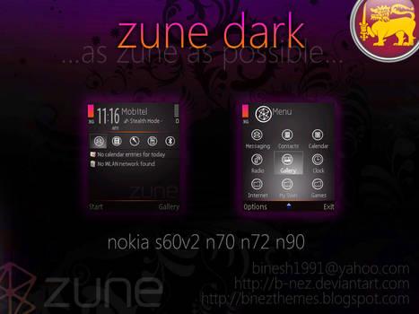 Zune Dark