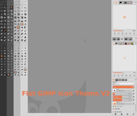 Flat GIMP icon Theme V 2.1