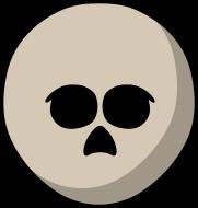 Teeworlds Tee Skull