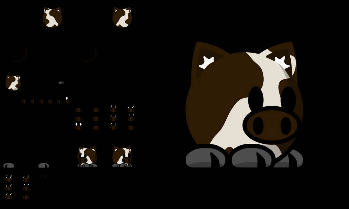Teeworlds Tee cow by android272