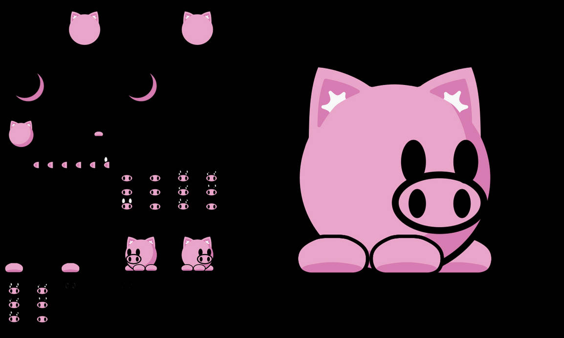 Teeworlds Tee Pig by android272